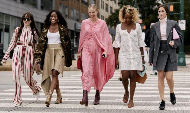 أسبوع الموضة فى نيويورك