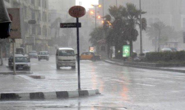 هبوط الامطار