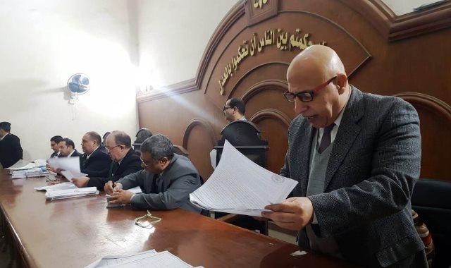 أولى جلسات واقعة تخريب خط المواد البترولية واشتعال النيران بمحكمة جنايات دمنهور
