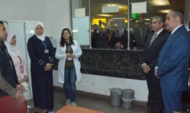 الحجر الصحى بمطار القاهرة - ارشيفية