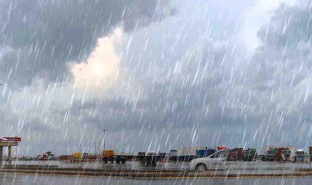 سقوط أمطار_أرشيفية