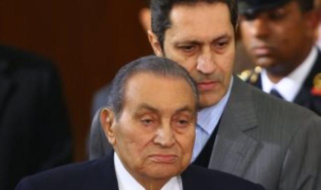 الرئيس الأسبق أثناء شهادته بقضية اقتحام الحدود ـ أرشيفية