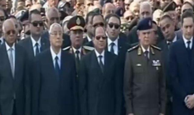 جنازه حسنى مبارك