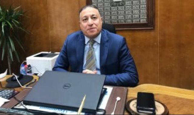 عماد الدين مصطفى رئيس القابضة الكيماوية