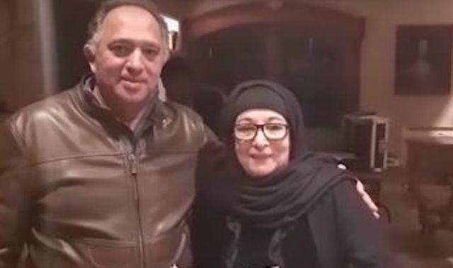 حسنى صالح و سميرة عبدالعزيز