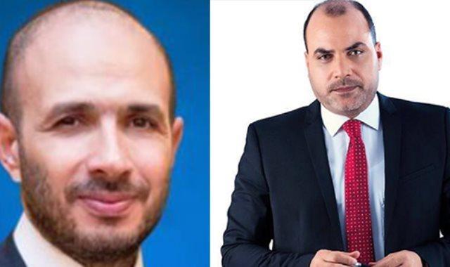 محمد الباز  وخالد الطوخى