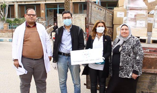مؤسسة أهل مصر تواجة كورونا