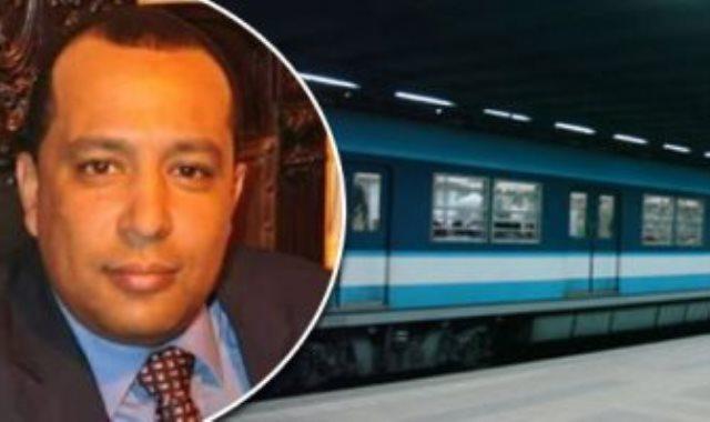 أحمد عبد الهادى المتحدث باسم مترو الأنفاق