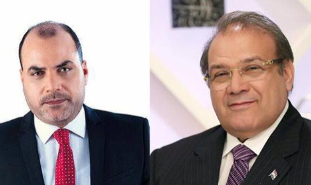 حسن راتب ودكتور محمد الباز