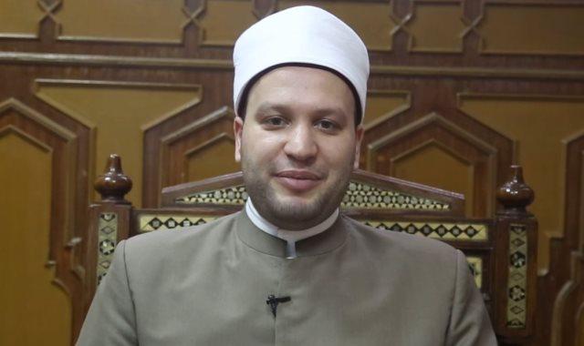 الشيخ إسلام النواوى  من علماء وزارة الأوقاف
