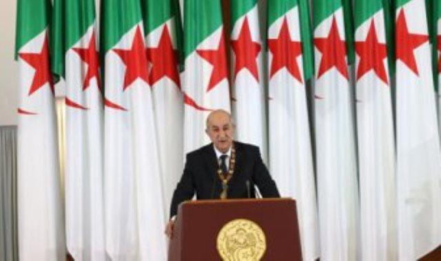االرئيس الجزائرى عبد المجيد تبون
