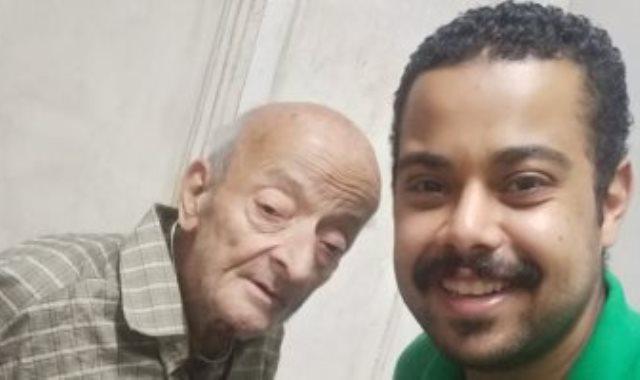 الدكتور محمد مشالى ومحرر اليوم السابع