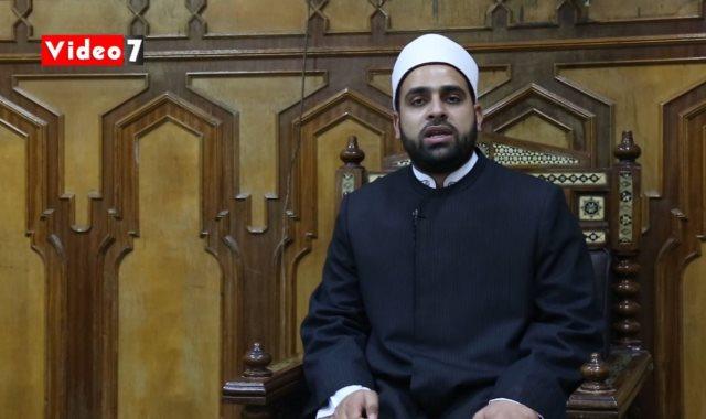 الشيخ أحمد مكي إمام وخطيب بوزارة الأوقاف