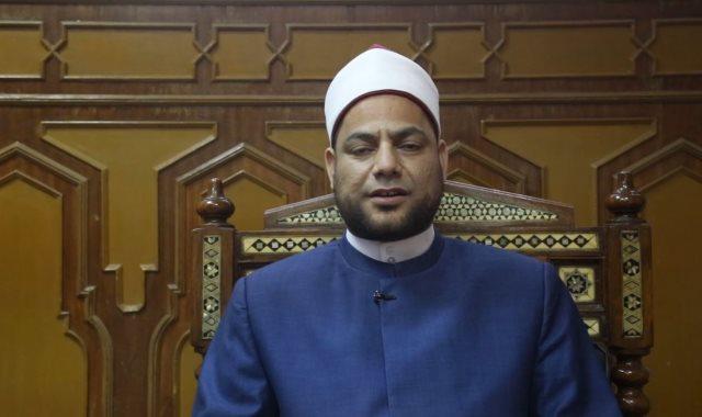 الشيخ / مصطفى عبد السلام إمام وخطيب بوزارة الأوقاف