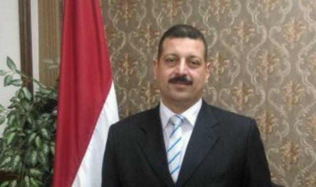 الدكتور أيمن حمزة المتحدث باسم وزارة الكهرباء و الطاقة المتجددة