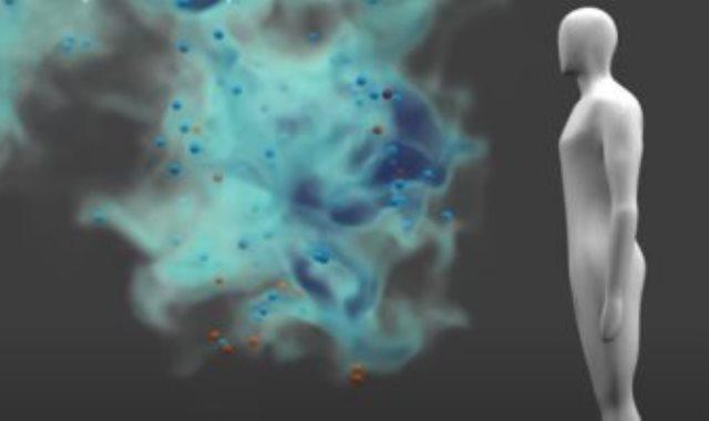 انتشار قطرات فيروس كورونا فى الأماكن المغلقة