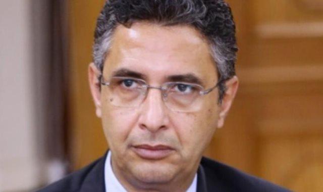 شريف فاروق رئيس هيئة البريد المصري
