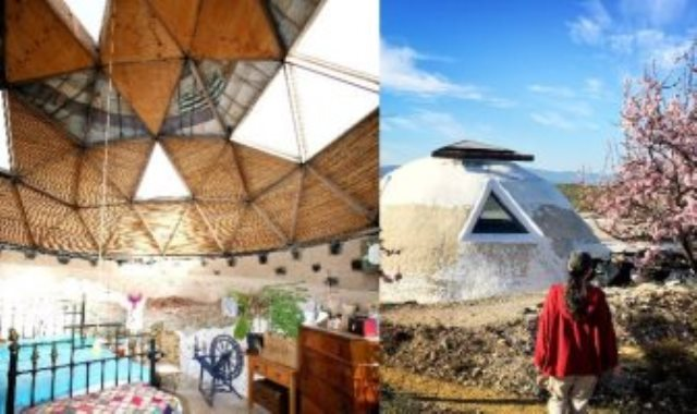 منزل يجمع الطاقة الشمسية