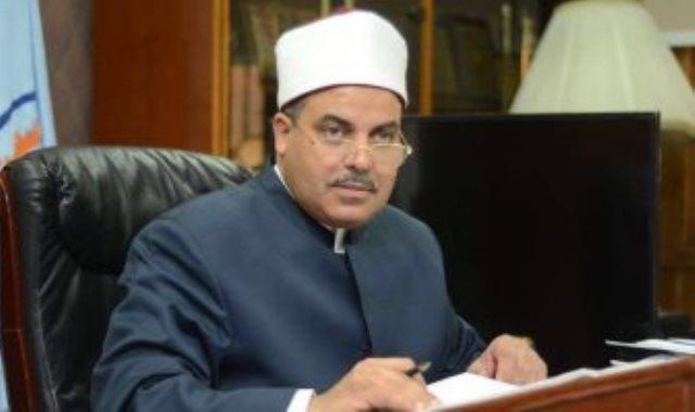 الدكتور محمد المحرصاوى رئيس جامعة الازهر
