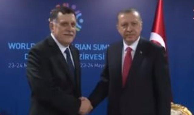 اردوغان والسراج