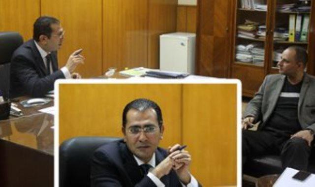 أيمن حسام الدين مساعد وزير التموين لشئون التجارة الداخلية