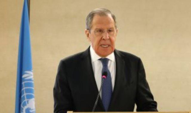 وزير الخارجية الروسى