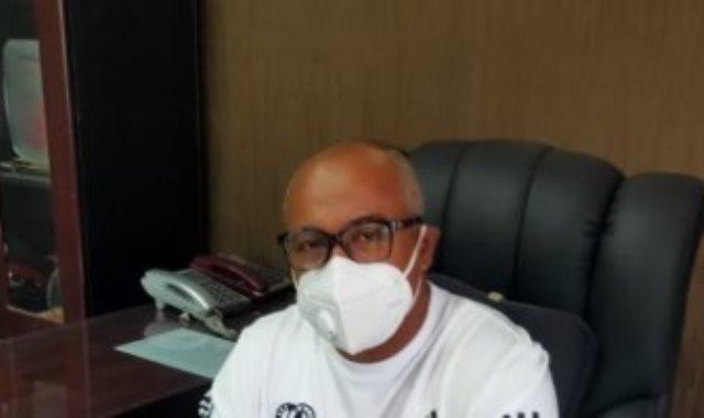 العميد أحمد فؤاد المهدى مدير الكرة بالطلائع