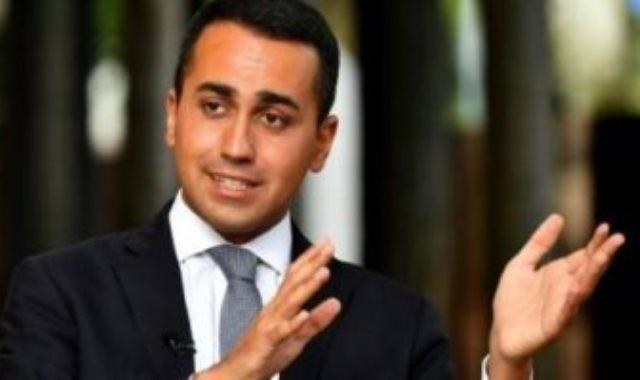 لويجي دي مايو وزير الخارجية الإيطالي