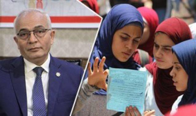 الدكتور رضا حجازى نائب وزير التربية والتعليم