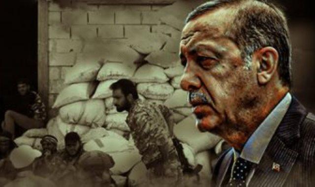 اردوغان ومرتزقة فى ليبيا - أرشيفية