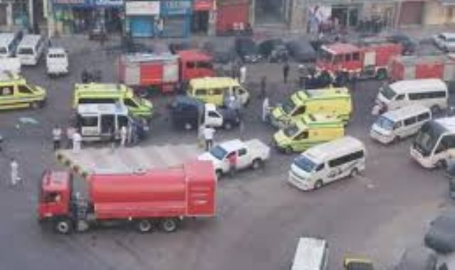 حريق بمستشفى خاص بالإسكندرية