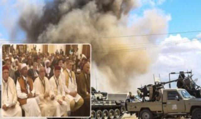 الحرب فى ليبيا