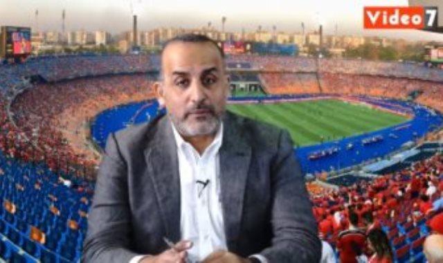 محمد شبانة فى لايف اليوم السابع