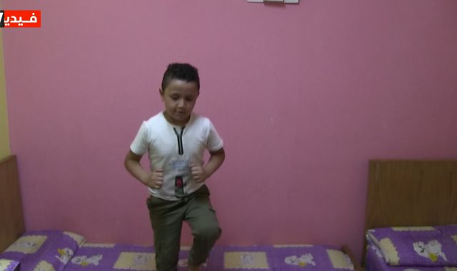 الطفل كريم أحمد