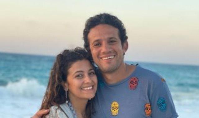محمد فضل وزوجته