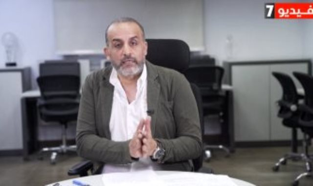 محمد شبانه فى لايف اليوم السابع