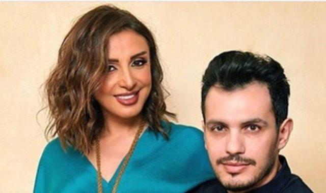 أنغام وزوجها أحمد إبراهيم