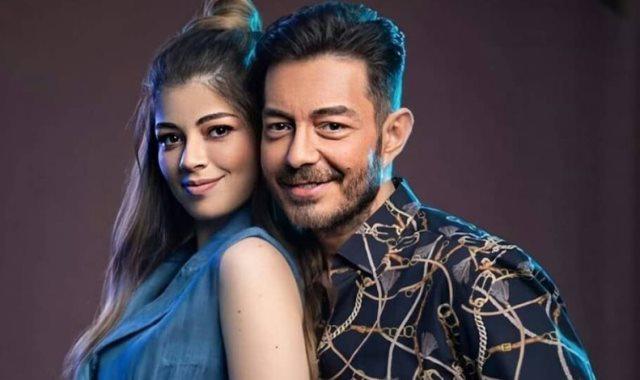 احمد زاهر وابنته