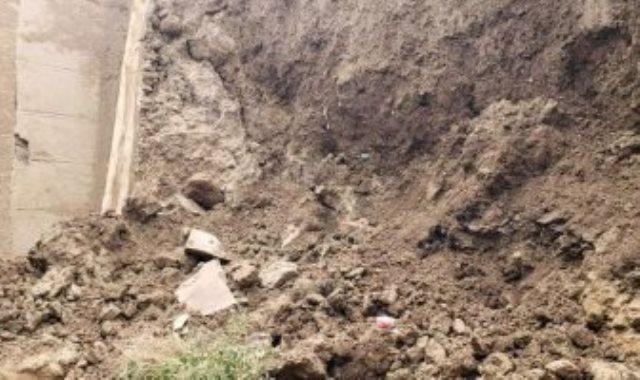 انهيار أجزاء من سور صنعاء القديمة