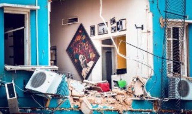 صورة أم كلثوم على جدران المنزل