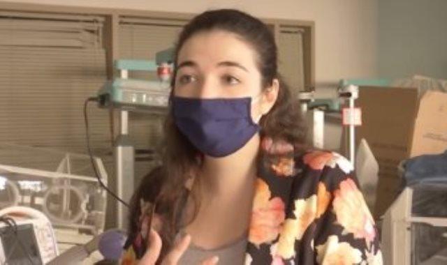 الممرضة اللبنانية باميلا زينون