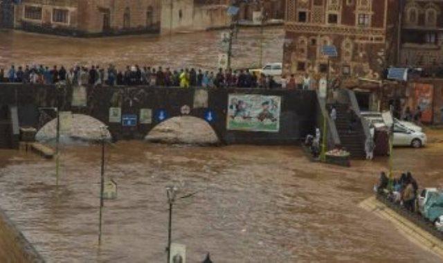 السيول فى اليمن
