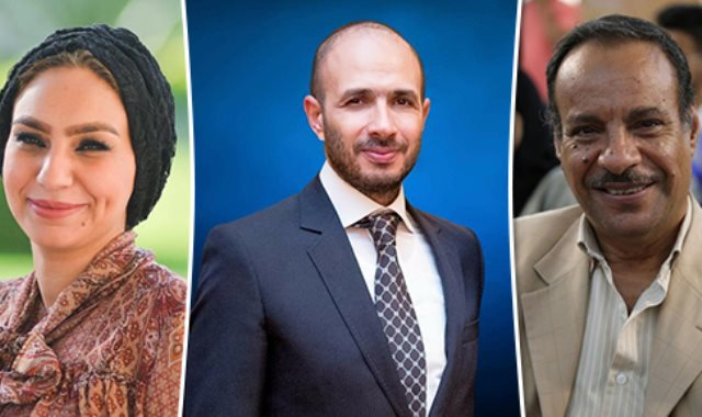 الدكتور هاني حرب و خالد الطوخي الدكتورة ياسمين الكاشف