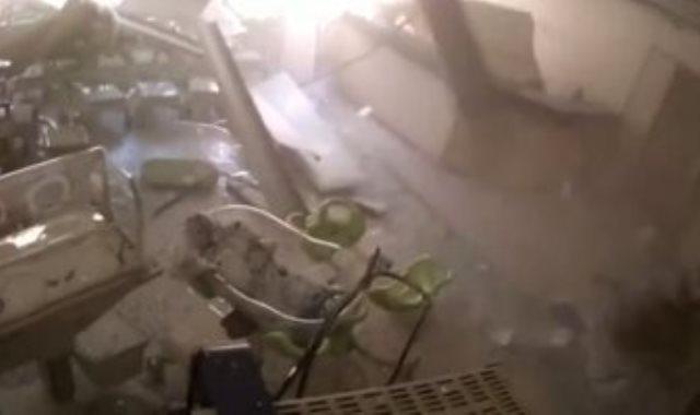 انفجار بيروت من داخل مستشفى الروم