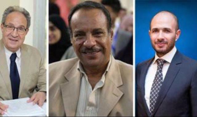 خالد الطوخي و الدكتور محمد العزازى وهانى حرب