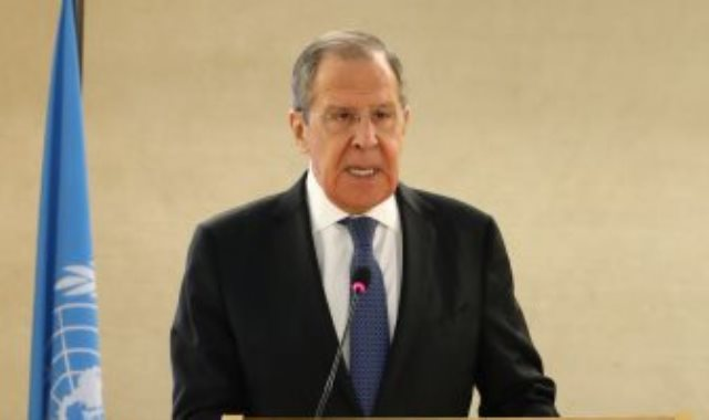 لافروف وزير الخارجية الروسى