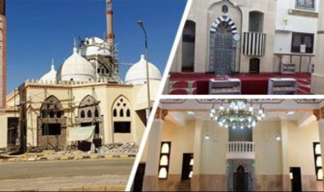 بناء المساجد فى عهد الرئيس السيسي