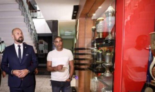 بروكيتش مع خالد بيبو في الاهلي