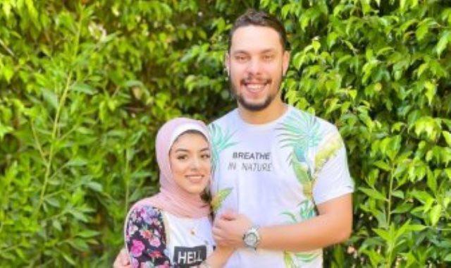 اليوتيوبر أحمد حسن وزوجته زينب