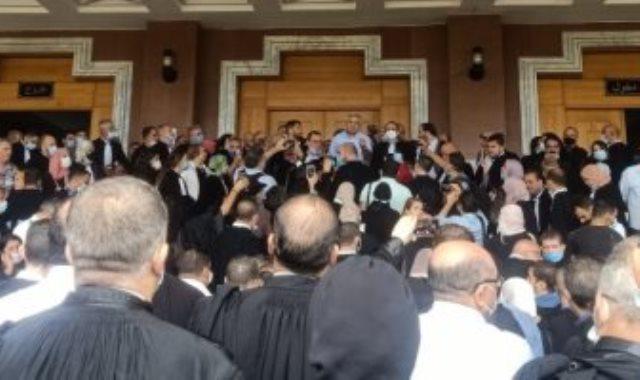 احتجاجات المحامون في الجزائر